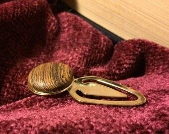 Bocote Bookmark (Book Mark, Book mark) -  A GIFT FOR HIM !