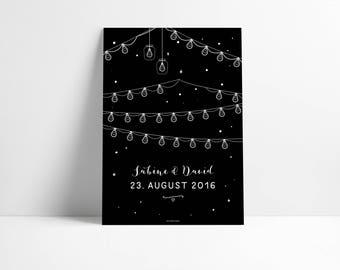 Poster / wedding gift
