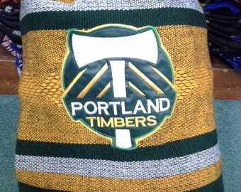 Timbers handmade backpack