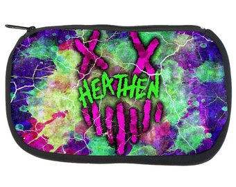 Insane Heathen Splatter Pencil Pouch