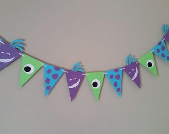Monsters Inc. Banner, Monsters Inc. Birthday, Monsters Inc. Baby Shower, Monsters Inc Ideas
