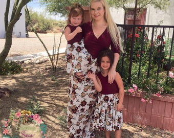 Mother Daughter Matching Dress - Mommy and Me Dress - Mommy and Me Outfits - Matching Family Outfits