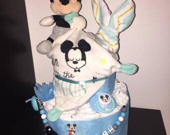 Diaper cake Mickey