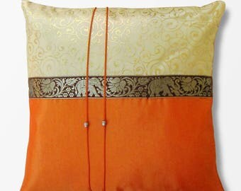 Silk pillow, silk upholstery, silk from Thailand, pillows, silk, upholstery, deco
