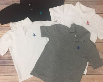Polo shirts with character