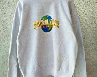 Vintage Universal Studios Japan sweatshirt crewneck jumper NOS
