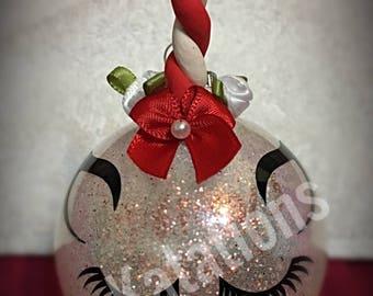 Peppermint Unicorn Ornament