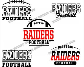 Raiders Football Bundle Download Files - SVG, DXF, EPS, Silhouette Studio, Vinyl  Files, Digital Cut Files -Use with Cricut and Silhouette