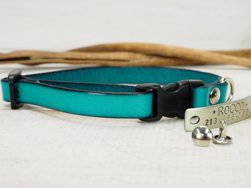 dog collar leather collar dog collar leather breakaway. Black Bedroom Furniture Sets. Home Design Ideas