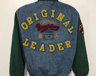 Vintage Bugle Boy Jean Jacket XL