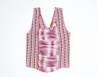 MISSONI - Cotton and silk top