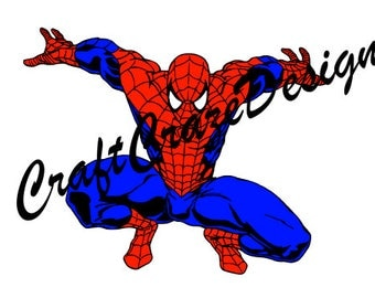 Spiderman SVG