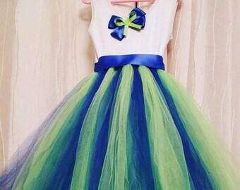 Custom flower girl tutu dress