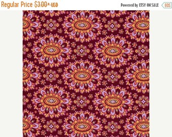 Sale Cloisonne in Cabernet from the Eternal Sunshine Collection by Amy Butler - Cotton Quilting Fabric