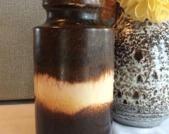 Vintage W Germany flower vase Heart shape no 203-18 home fall decor