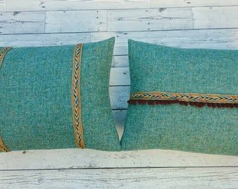 Hand Crafted Harris Tweed Cushion cover