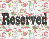 Reserved - CUSTOM ORDER : Kate Mathews