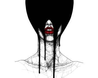 Drip - Art PRINT / Poster