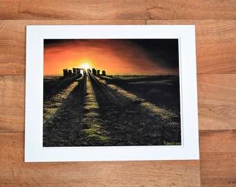 Giclée Print ''Stonehenge''
