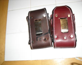 Leather Iphone Carrier