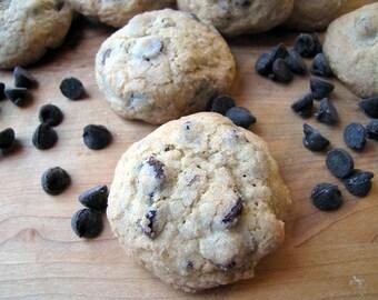 Chocolate Chip Cookies, 1 1/2 Dozen, Homemade Cookies, Chocolate Chip Pecan Cookies