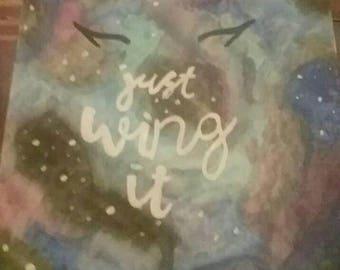 Just wing it galaxy