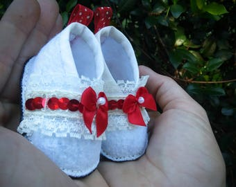 Newborn Baby Booties for first pics