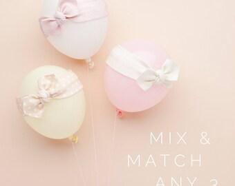 Mix and Match Any 3 / Baby Headband / Newborn Headband / Baby Headbands /  Toddler Headband / Infant Headband / Baby Headwrap / Baby Bows