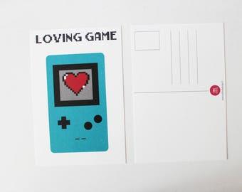 P.o. loving game card