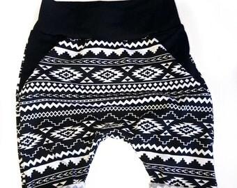 Geo Harem Shorts | ready to ship | harems, harem shorts, boys shorts, capri, jogger shorts, kids shorts, summer, harems, joggers