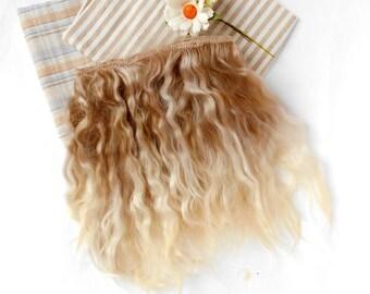 Mohair weft, Mohair straight,Mohair doll hair, doll hair,blythe hair,mohair for reborns