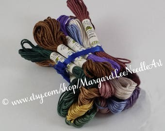 30% OFF / Page 5 ( 4112 to 5115) AU Ver A Soie / Soie D' ALGER / Pure Silk Thread for Cross Stitch, Embroidery, Counted Thread, Needlepoint