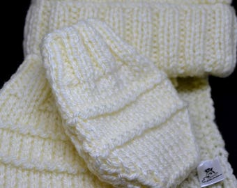 Toddler Hat, Scarf & Mittens Set