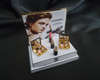 """Makeup shop display """"Chanel"""" 1/12th scale."""
