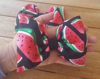 Watermelon Hair Bow, Watermelon Bow, Watermelon, Sandia