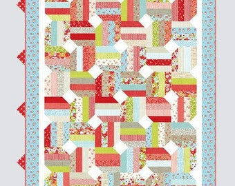 Jellybean Quilt Pattern from Thimble Blossoms by Camille Roskelley