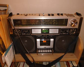 Vintage JVC 838 Boombox Works good
