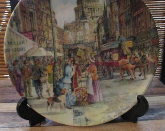 Davenport Cries of London Collectors Plate - The Flower Seller Brian Eden (1991)