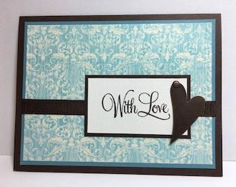 Romantic Card, Love Card, Anniversary Card
