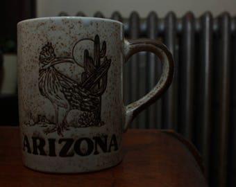 Vintage Arizona Mug - Kitschy Tourist Souvenir