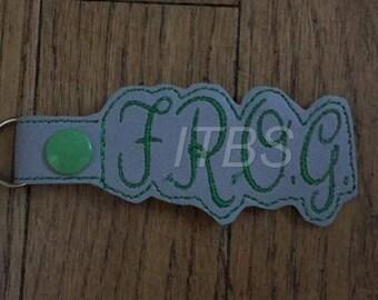 F.R.O.G. Fully rely on God key fob