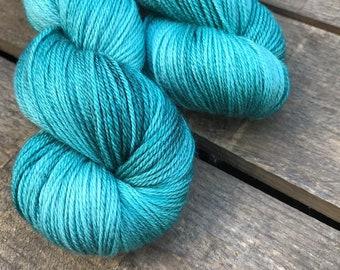 Salzbrise - Superwash Blue Faced Leicester, Silk & Cashmere Splendiferous Sock 100g