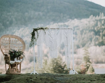 Macrame Wedding/Event Backdrop Rental