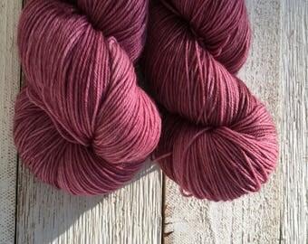 Hand Dyed Yarn - Indie Dyed Yarn - SW Sock - Rasperry Kiss