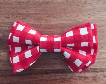 Red Check Bow Tie - Toddler
