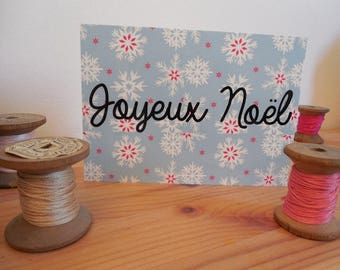 Postcard Merry Christmas card