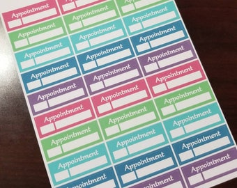 Appointment Planner Stickers  - 093