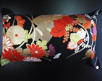 Cushion of Obi (Kimono) Japanese Silk  0000094