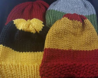 Team spirit hats, Knit beanie
