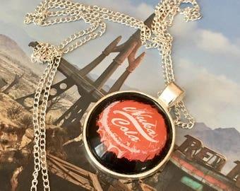 Nuka Bottle Cap Keyring or Necklace